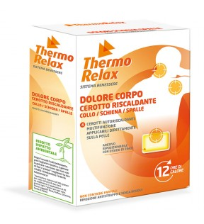 Thermorelax Cerotto Corpo x 4 cerotti